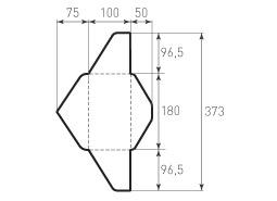 Горизонтальный конверт 180x140
