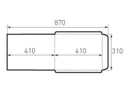 Вертикальный конверт 310x410