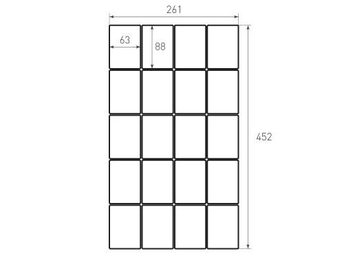 Скругление 63x88 Реборн