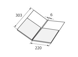 папка ФС 220x303x6