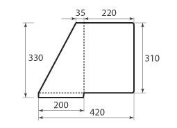 папка ФС 220x310 угловая