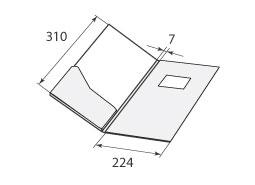 Папка FS 224x310x7 2Ф