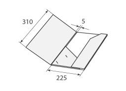 Папка ФС 225x310x5
