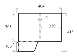 Папка ФС 230x305x4