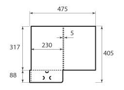 Папка ФС 230x317x5