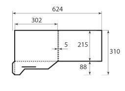 Папка ФС 302x215x5