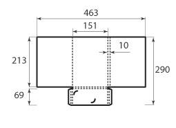 Папка ФВ 151x213x10