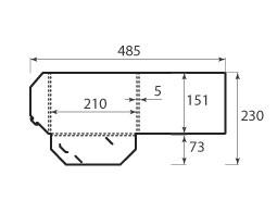 Папка ФВ 210x151x5