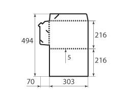 Папка ФВ 216x303x5 2 штуки