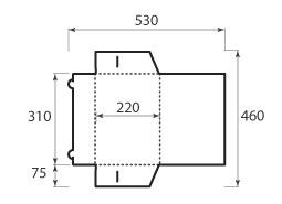 Папка ФВ 220x310