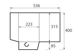 Папка ФВ 223x315