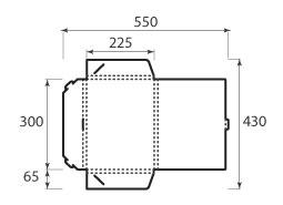 Папка ФВ 225x300x15