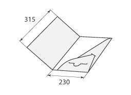 Папка ФВ 230x315 2 кармана