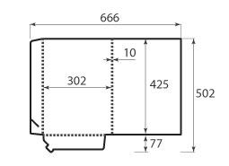 Папка ФВ 302x425x10