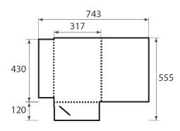 Папка ФВ 317x430x5
