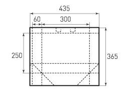Горизонтальный пакет G300x250x120