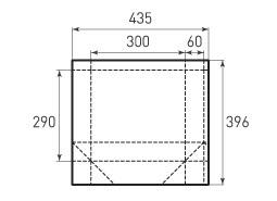 Горизонтальный пакет G300x290x120