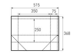 Горизонтальный пакет G350x250x150