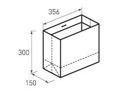 Горизонтальный пакет G356x300x150