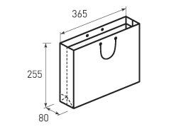 Горизонтальный пакет G365x255x80