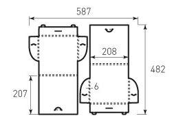 Портфель 208x207x6