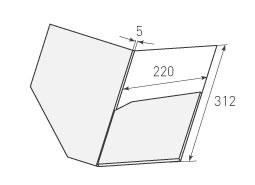 Папка ФС 220x312x5