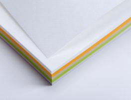 Цветной блок для записей