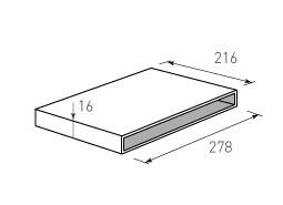 Коробка крышка дно с оклейкой 278x216x16