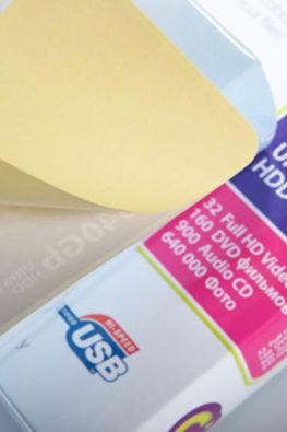 Стикеры на упаковку электроники 3Q 03