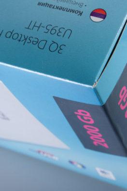 Стикеры на упаковку электроники 3Q 05