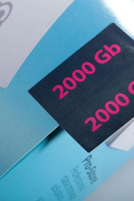 Стикеры на упаковку электроники 3Q 06