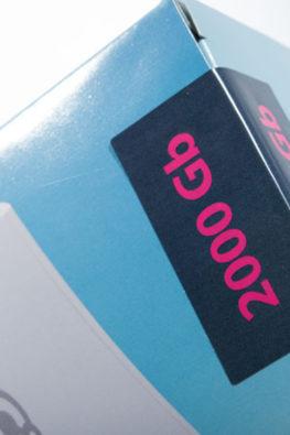 Стикеры на упаковку электроники 3Q 08